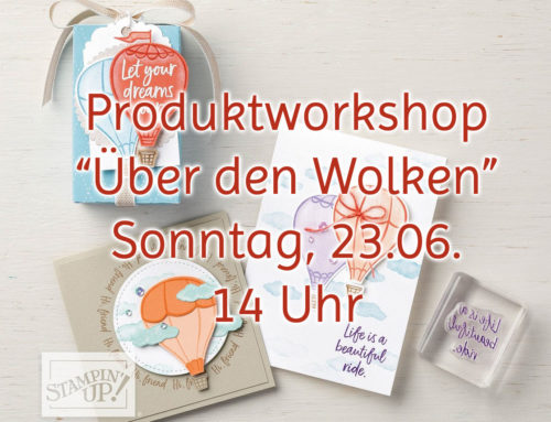 """Workshop """"Über den Wolken"""" – jetzt anmelden!"""