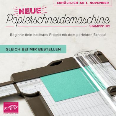 Banner neuer Papierschneider Stampin' Up!