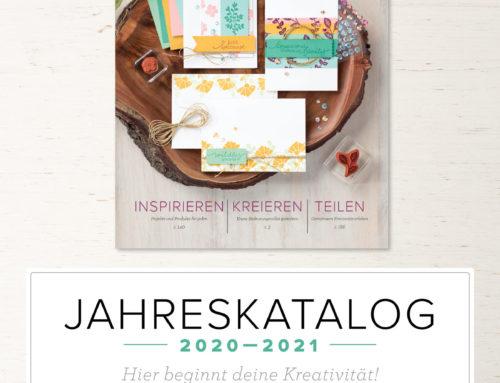 Neuer Jahreskatalog und Materialpakete